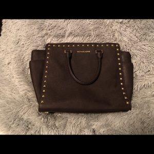 Michael Kors LARGE brown Selma Bag